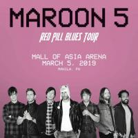 RED PILLS BLUES TOUR: MAROON 5 LIVE IN MANILA