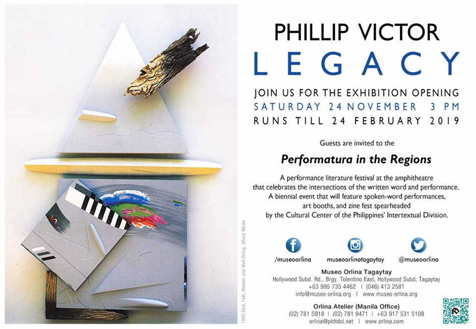 PHILLIP VICTOR: LEGACY
