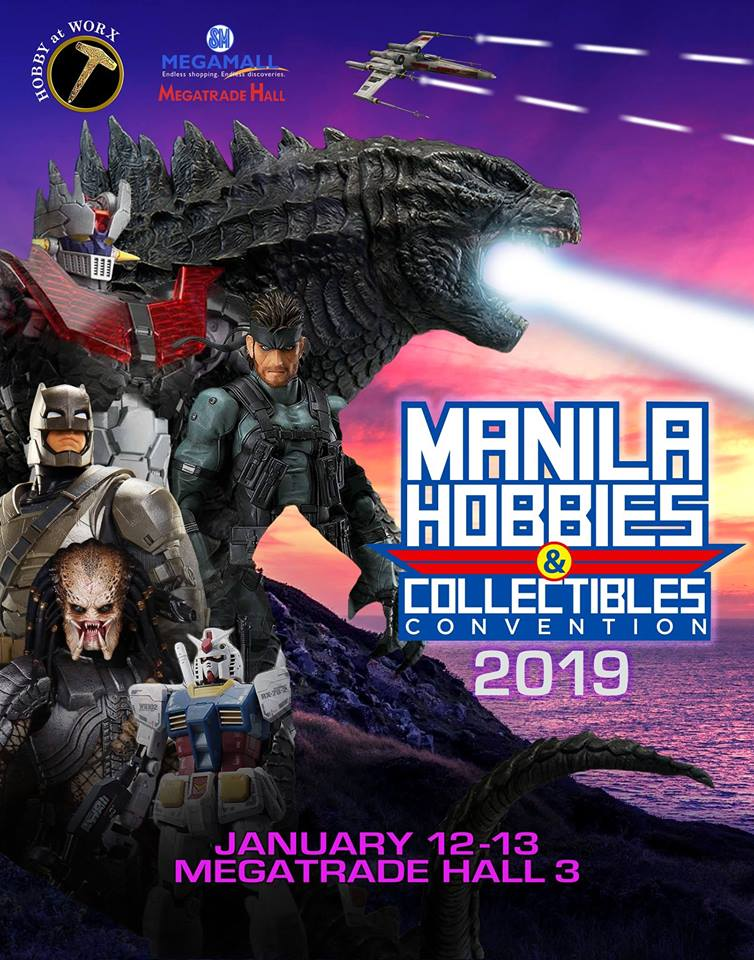 MANILA HOBBIES & COLLECTIBLES CONVENTION 2019