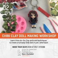 CHIBI CLAY DOLL MAKING WORKSHOP