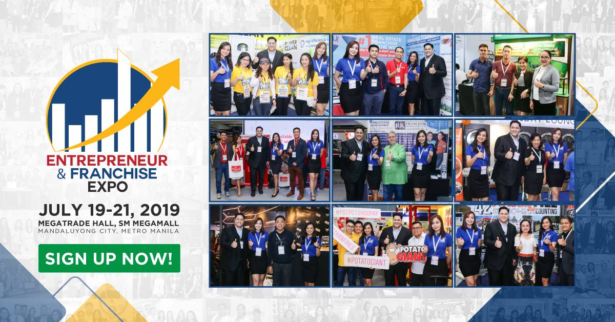 6TH ENTREPRENEUR AND FRANCHISE EXPO 2019