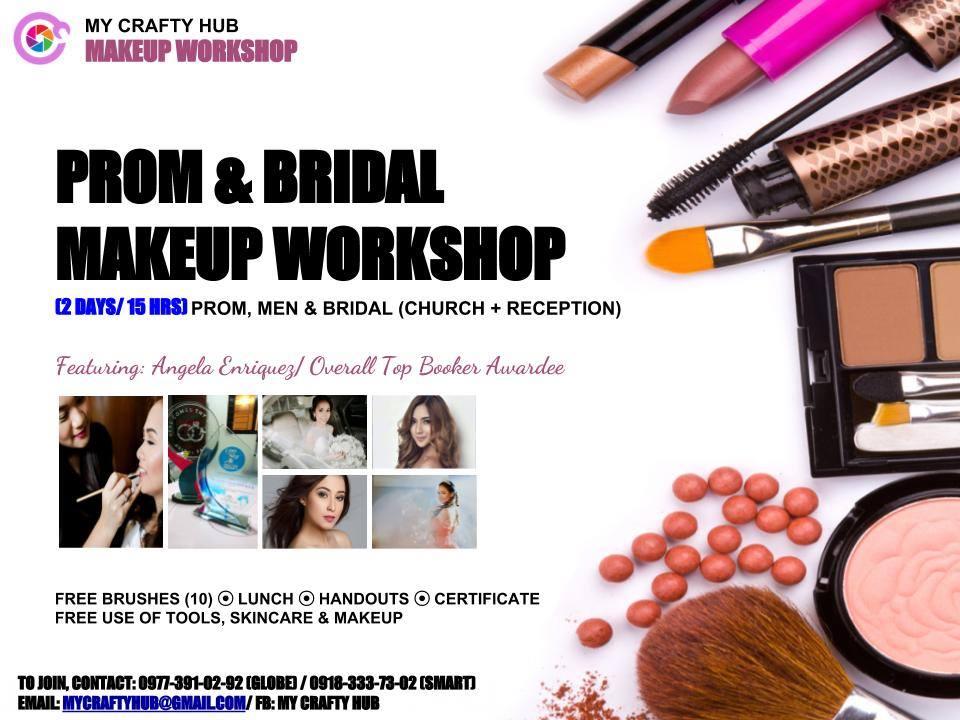 PROM, MEN & BRIDAL MAKEUP WORKSHOP