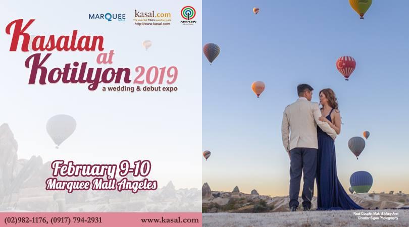 KASALAN AT KOTILYON 2019 SA CENTRAL LUZON