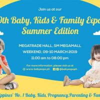 9TH BABY, KIDS & FAMILY EXPO - SUMMER EDITION