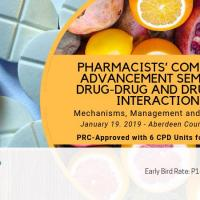 CPD SEMINAR: DRUG-DRUG AND DRUG-FOOD INTERACTIONS