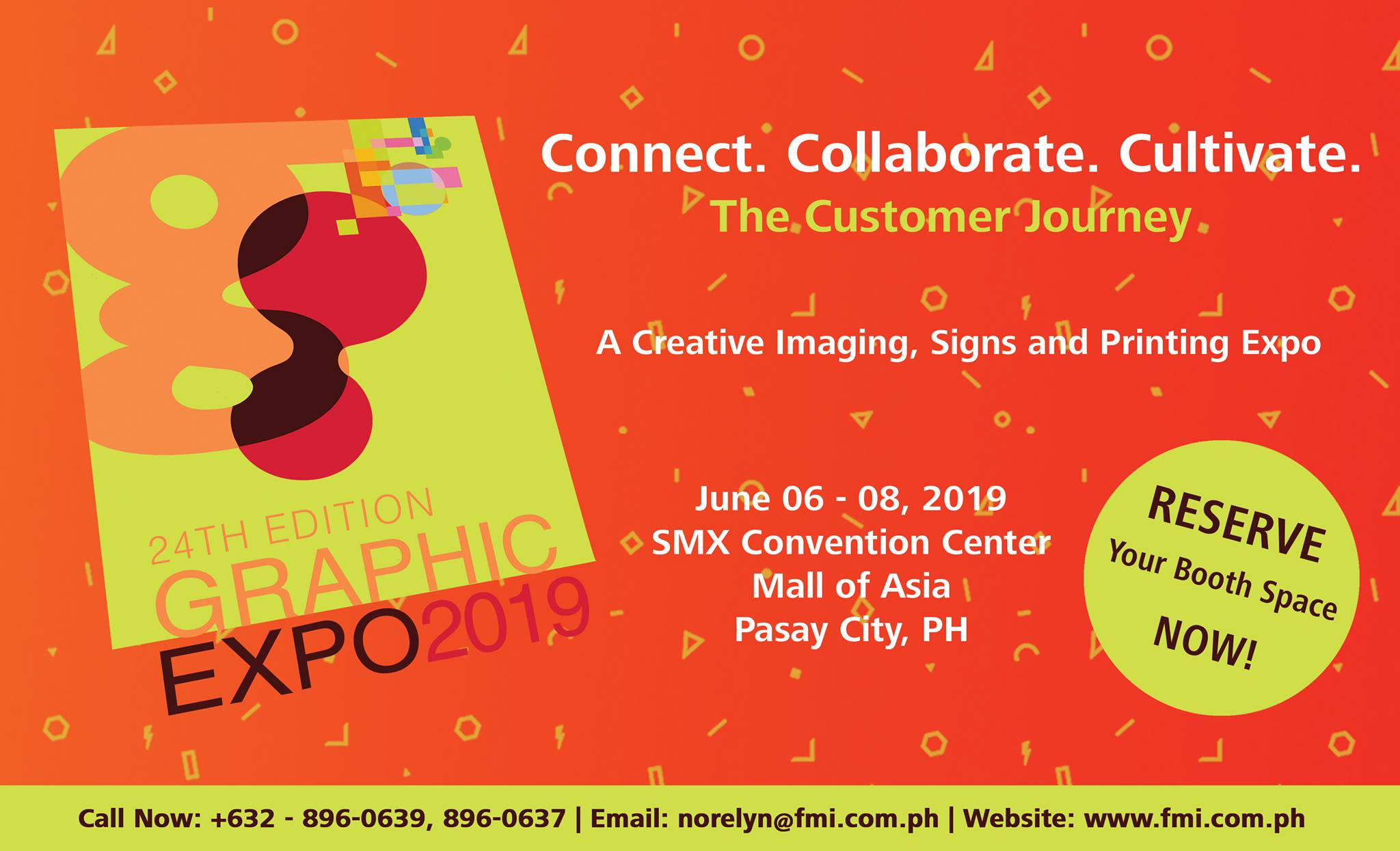 THE 24TH GRAPHIC EXPO 2019