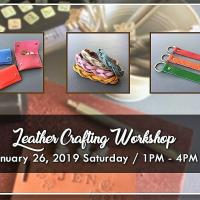 LEATHER CRAFTING WORKSHOP 2019