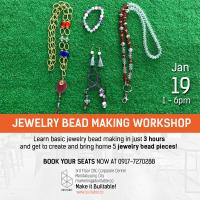 JEWELRY BEAD ACCESSORY MAKING WORKSH 2019