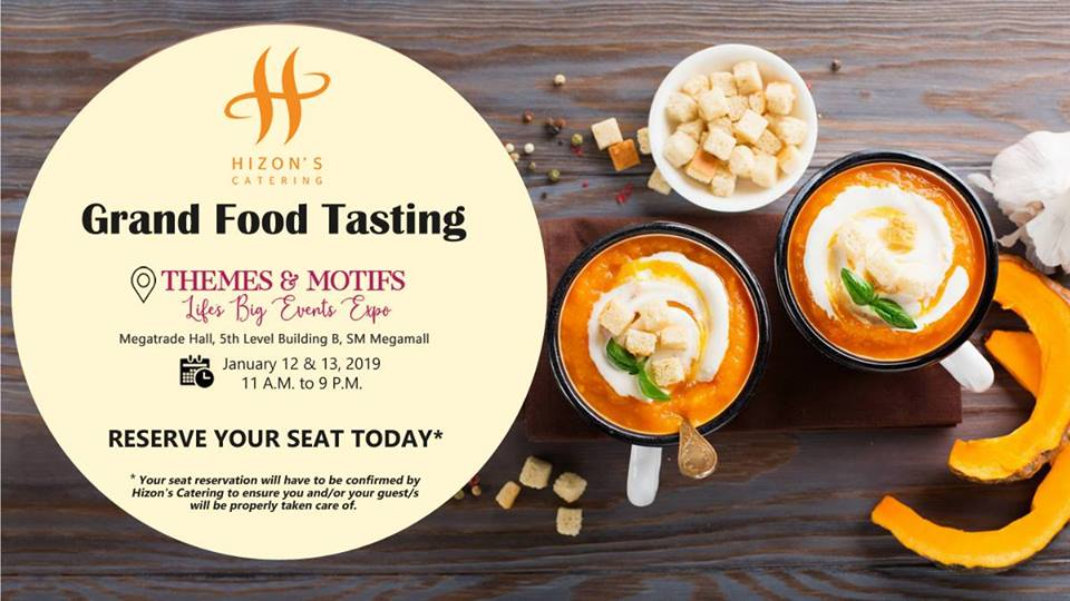 HIZON'S CATERING GRAND FOOD TASTING