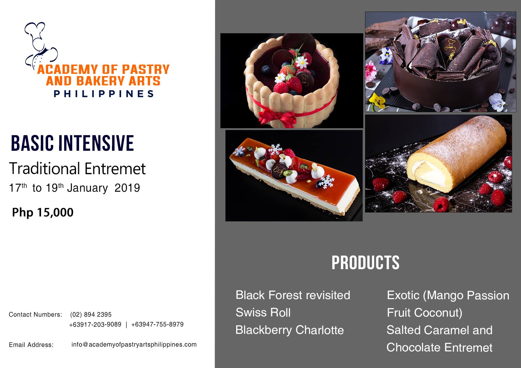 TRADITIONAL ENTREMET