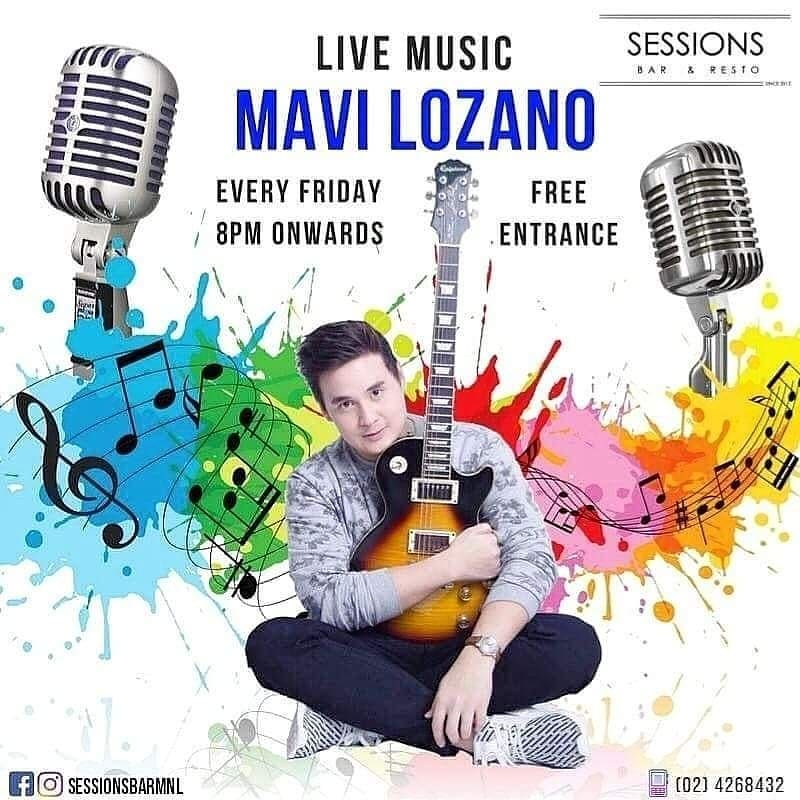 MAVI LOZANO AT SESSIONS BAR MNL