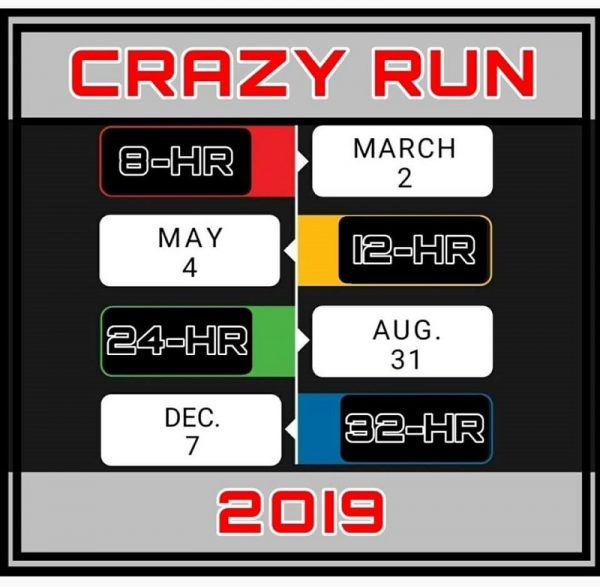 CRAZY RUN 32-HOUR