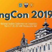 LINGCON 2019: A NATIONAL STUDENT CONFERENCE ON LINGUISTICS