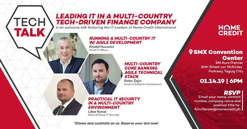TECH TALK: I.T. IN A MULTI-COUNTRY TECH-DRIVEN FINANCE COMPANY