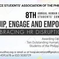 8TH ANNUAL HUMAN RESOURCE STUDENTS' CONVENTION