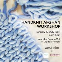 HANDKNIT AFGHAN WORKSHOP