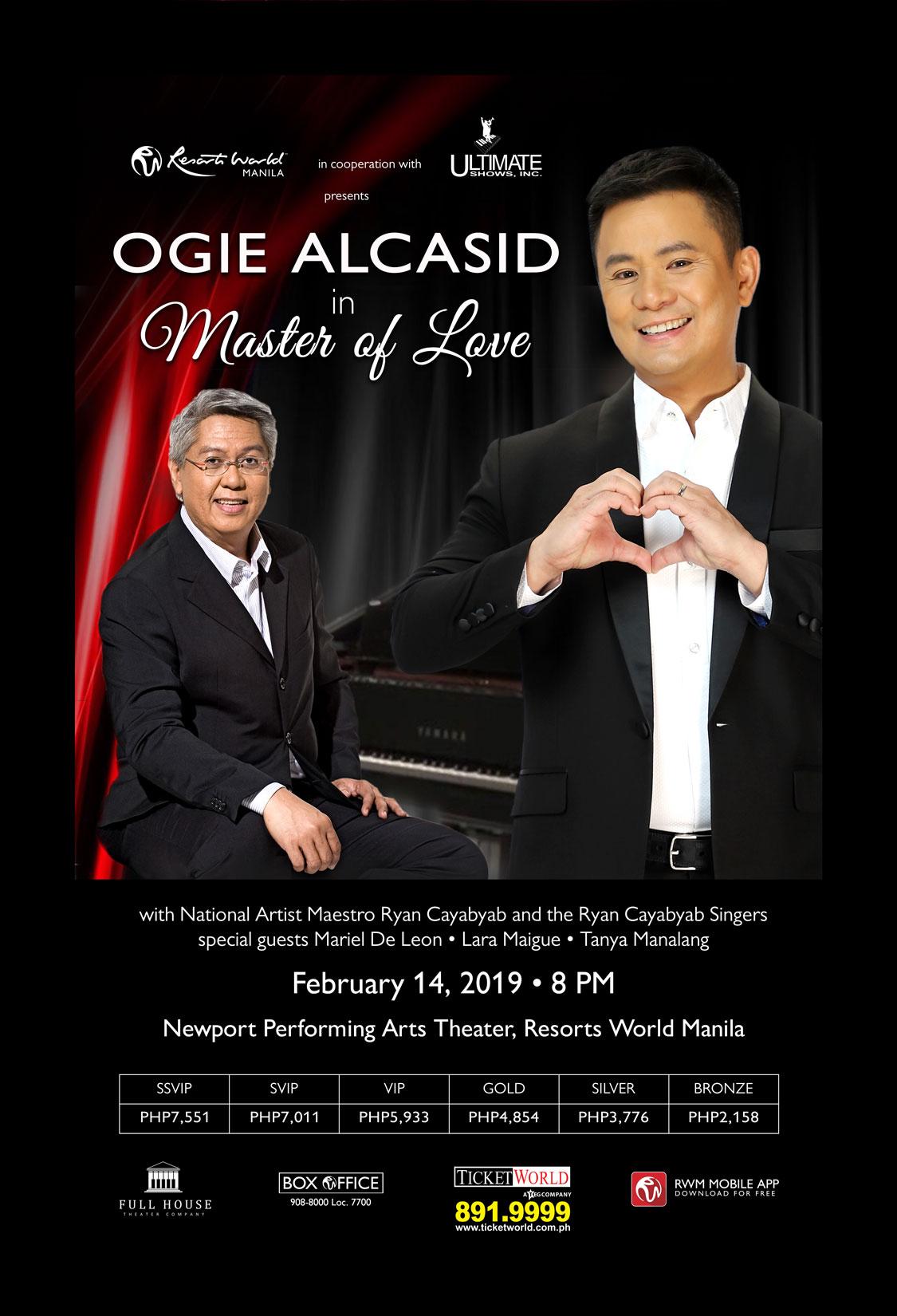 Ogie Alcasid in Master of Love