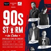 90s STORM in Cebu OPM Rock Icons in Concert
