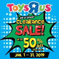 "TOYS ""R"" US NATIONWIDE CLEARANCE SALE !"