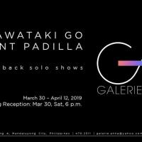 KAWATAKI GO & VINCENT PADILLA (BACK-TO-BACK SOLO SHOWS)