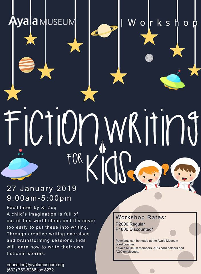 WORKSHOP: FICTION WRITING FOR KIDS