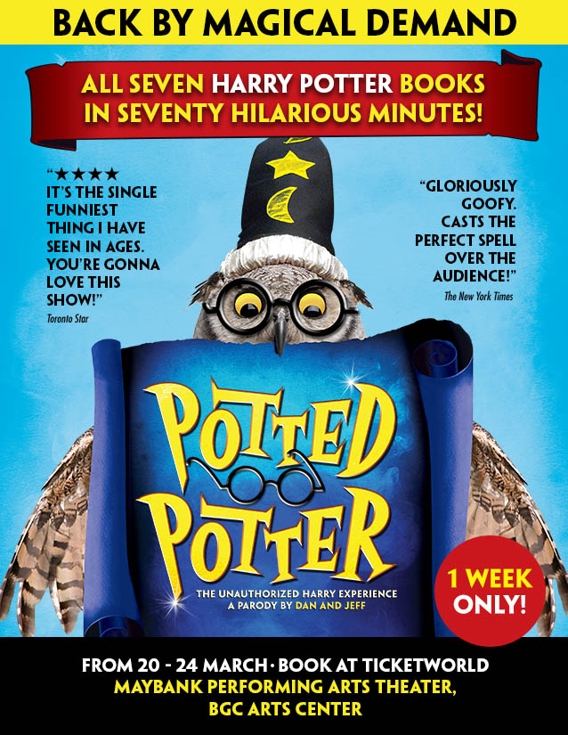 POTTED POTTER The Unauthorized Harry Experience A Parody by Dan and Jeff