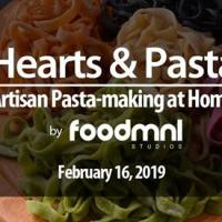 HEARTS AND PASTA MAKING