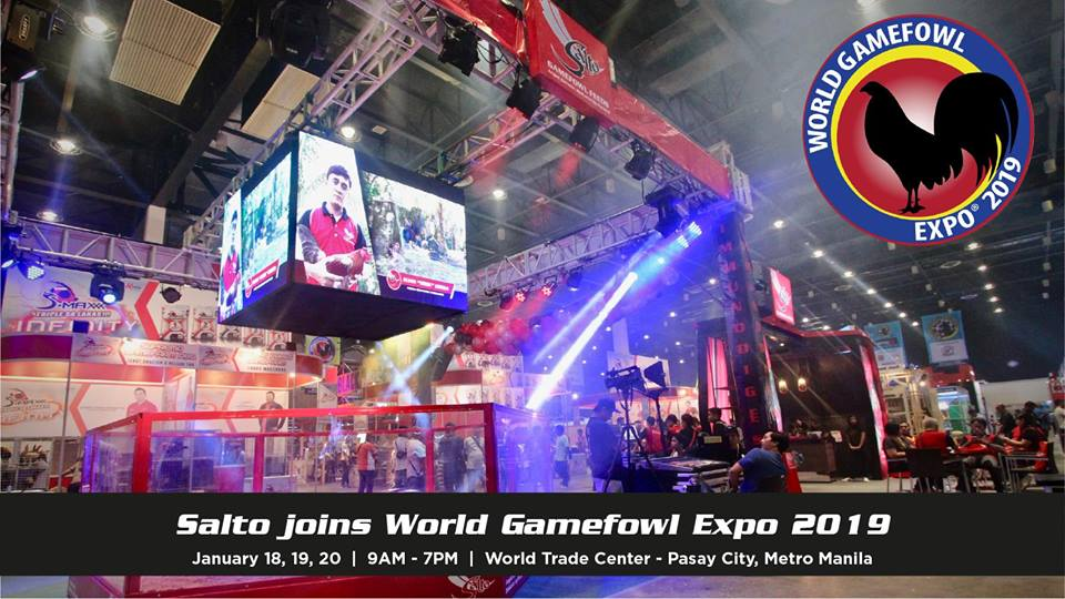 SALTO JOINS WORLD GAMEFOWL EXPO 2019 - What's Happening
