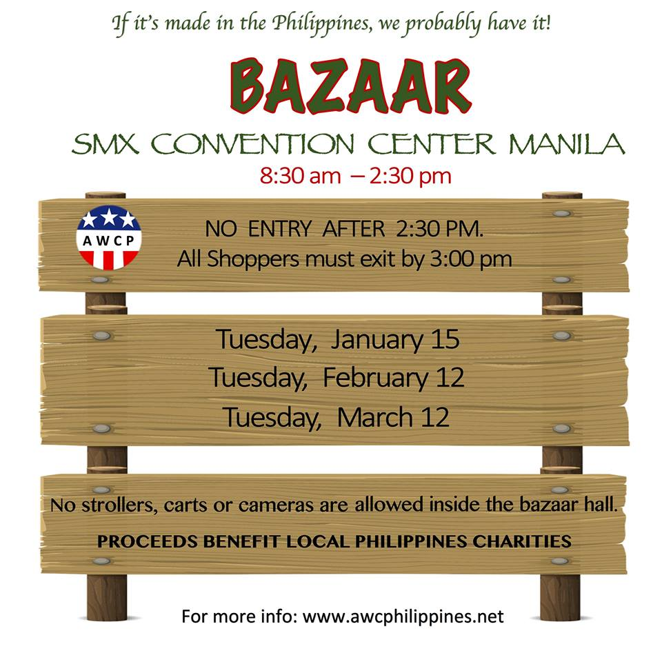 AMERICAN WOMEN'S CLUB OF THE PHILIPPINES BAZAAR 2019