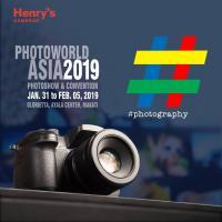 HENRY'S CAMERA AT PHOTOWORLD ASIA 2019