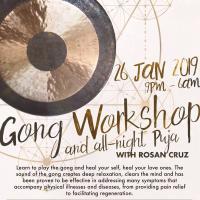 GONG WORKSHOP WITH ROSAN CRUZ