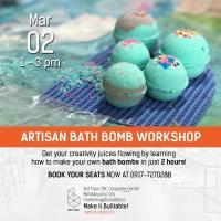 ARTISAN BATH BOMB WORKSHOP (SESSION 2)