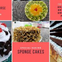 SPECIAL BAKING - SPONGE CAKES WORKSHOP