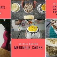 SPECIAL BAKING - MERINGUE CAKES