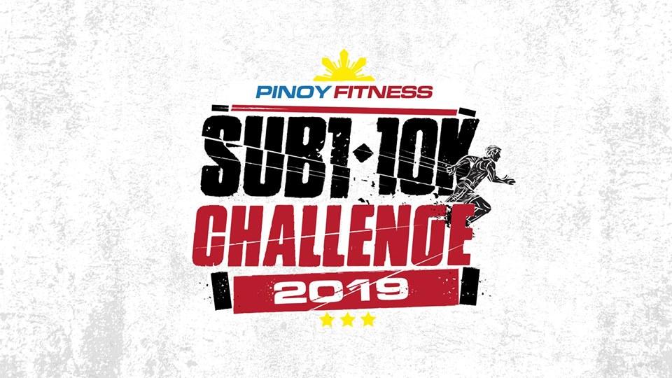 PINOY FITNESS SUB1 10K CHALLENGE 2019