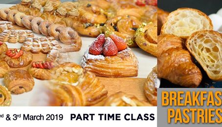 BREAKFAST PASTRIES - 2 DAYS PART TIME CLASS