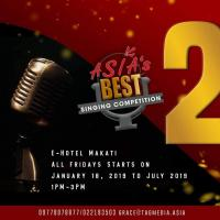 ASIA'S BEST SINGING COMPETITION 2019