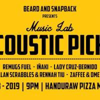 MUSIC LAB: ACOUSTIC PICKS AT HANDURAW PIZZA MANGO SQUARE