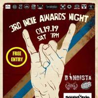 3RD INDIE AWARDS NIGHT AT SKIPPY'S GASTROPUB MANILA