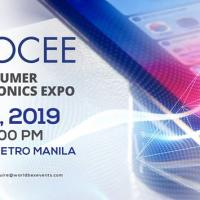 WORLD OF CONSUMER ELECTRONICS EXPO 2019!
