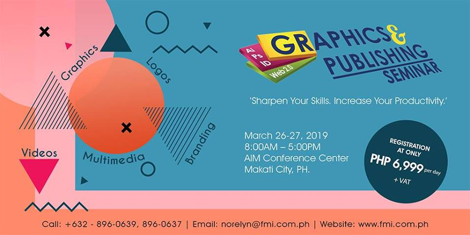 THE GRAPHICS & PUBLISHING SEMINAR 2019