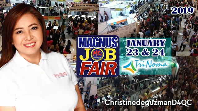MAGNUS JOB FAIR: OH! START THE YEAR RIGHT YEAR 8