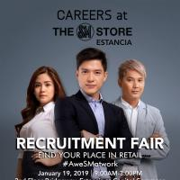 THE SM STORE ESTANCIA RECRUITMENT FAIR