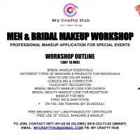 MEN & BRIDAL MAKEUP WORKSHOP