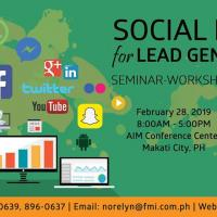 SOCIAL MEDIA FOR LEAD GENERATION SEMINAR-WORKSHOP