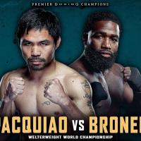 PACQUIO VS. BRONER AT SKINNY MIKE'S SPORTS BAR
