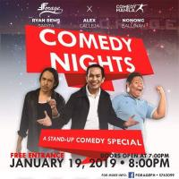 COMEDY NIGHT AT FORAGE