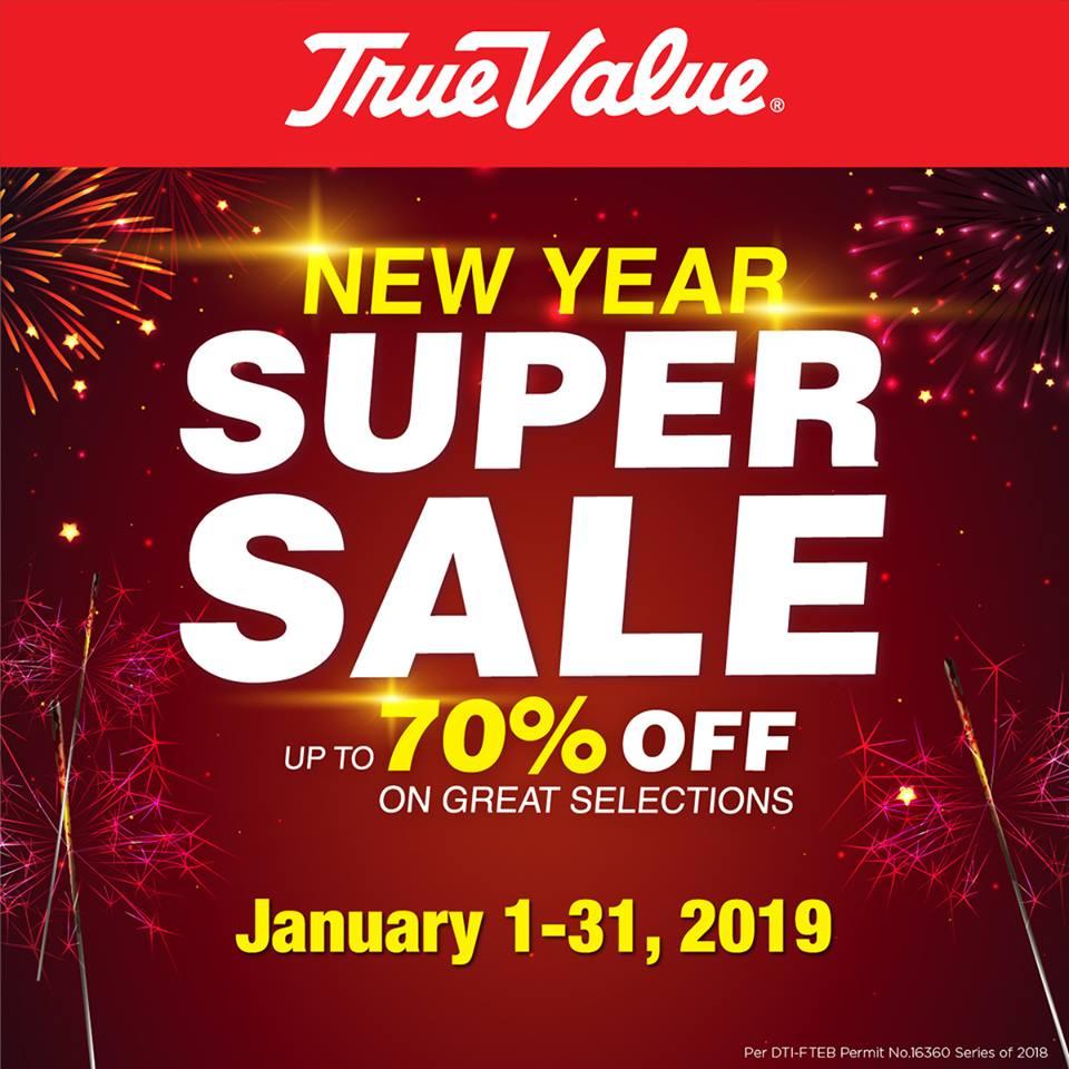 TRUE VALUE'S NEW YEAR SUPER SALE