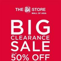 THE SM STORE MALL OF ASIA BIG CLEARANCE SALE