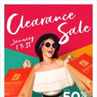 ROBINSONS DEPARTMENT STORE'S CLEARANCE SALE